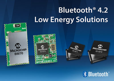 Microchip Release New Bluetooth Low Energy RF IC's