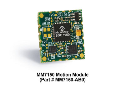 Microchip Releases New Low-Cost, Motion Module