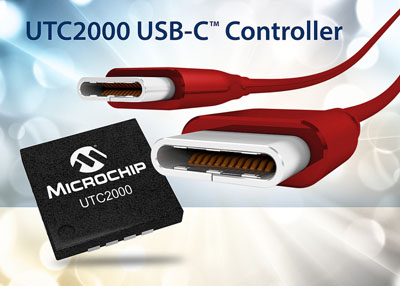 New USB-C Controller IC from Microchip