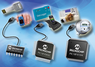 Microchip Releases New USB PIC Microcontrollers