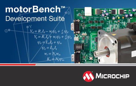 Microchip Releases Advanced Motor Control Tool with Auto Tuning