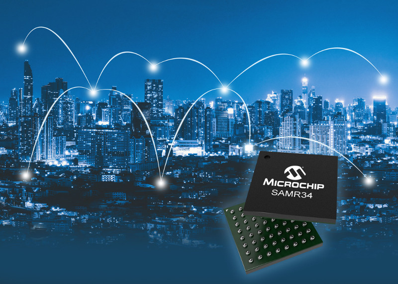 Microchip Releases New LoRa System-In-Package Solution