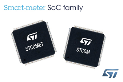 New STCOMET Smart-Meter Solutions with Powerline Communication