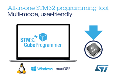 ST Releases New Programming Tool for STM32 Microcontrollers