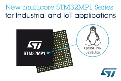 ST Launches STM32MP1 Microprocessor Series with Linux Distribution