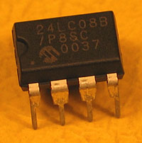 24LC08 - 24LC08 1kx8 Microchip Serial EEPROM