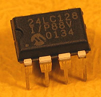 24LC128 - 24LC128 16kx8 Microchip Serial EEPROM