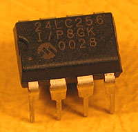 24LC256 - 24LC256 32kx8 Microchip Serial EEPROM