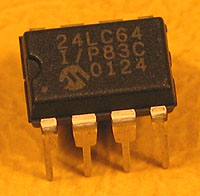 24LC64 - 24LC64 8kx8 Microchip Serial EEPROM