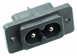 2 Pin Male Socket