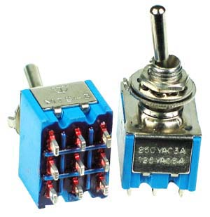 3pdt11 3pdt On On Miniature Toggle Switch Technical Data