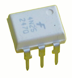 4N28 - 4N28 6 Pin PhotoTransistor Optocoupler
