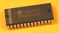 ADC0809CCN - ADC0809 8 bit A/D Convertor with 8-Channel Multiplexer