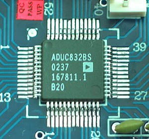 ADuC832 Analog Devices Microcontroller
