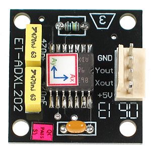 Click for Larger Image - Acceleration Sensor Board
