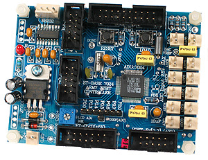 Click for Larger Image - ARM7024/ADuC7024 Controller Board