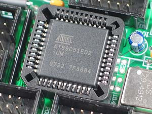 Click for Larger Image - AT89C51 Controller - AT89C51ED2 Microcontroller