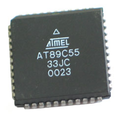 AT89C55-33JC - AT89C55 44-Pin 33MHz 8kb 8-bit Microcontroller