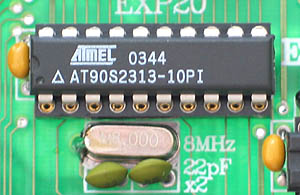 AT90S2313 Development Board