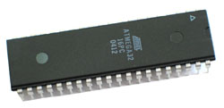 ATMega32 - 8 bit AVR Microcontroller with 32k Bytes In-System Programmable Flash