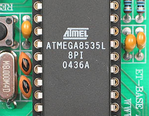 Click for Larger Image - ATMega8535L Microcontroller