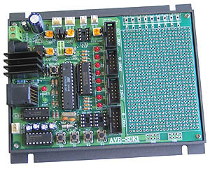 ATMega8 Educational Board