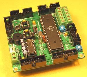 atmega control board rh futurlec com Atmel ATmega128 ATmega128 vs ATmega2560