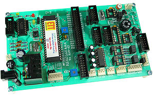 Click for Larger Image - ATMega Training Board