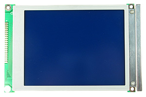 320x240 Blue Graphic LCD Display(SED1335)