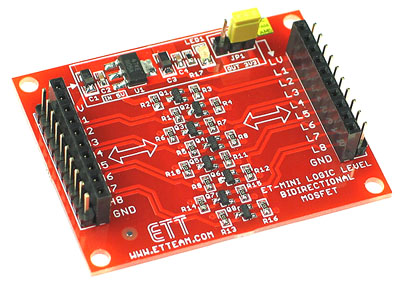 Bi-Directional Logic Level Converter Mini Board