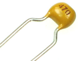 47pf 50v Multilayer Ceramic Capacitor Technical Data