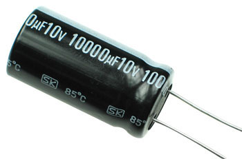 10 000uf 10v Radial Electrolytic Capacitor