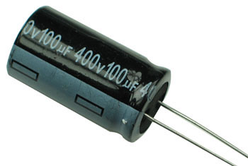 100uF 400V Radial Electrolytic Capacitor