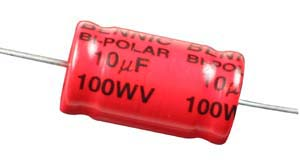 10uF 100V Non-Polarised Crossover Capacitor