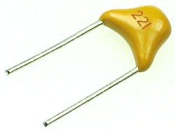 C220PMC - 220pF 50V Multilayer Ceramic Capacitor