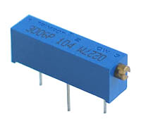1/2W Rectangular Cermet Potentiometer
