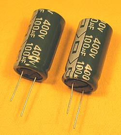 HV Electrolytic Capacitors