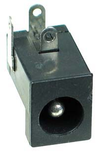 2.5mm DC Power Male PC Mount (3P)