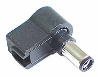 DC Plug - DC Power Right Angle Female