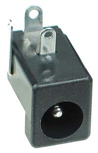 2.0mm DC Power Male PC Mount (3P)