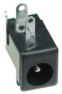 2.1mm DC Power Male PC Mount (3P)