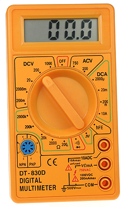 Basic 3.5 Digit Multimeter