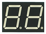 Double Digit Seven-Segment LED Display