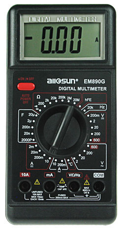 Digital Multimeter with Frequency Measurement
