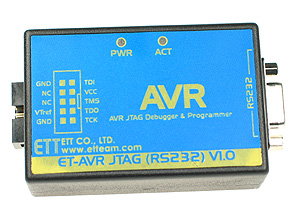 Click for Larger Image - ET-AVR JTAG Debugger & Programmer