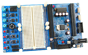Click for Larger Image - ET-AVR Stamp Board
