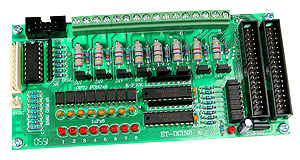 Click for Larger Image - DC Opto-Isolated Input Board