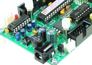 Click for Larger Image - ET-STM32 Stamp ST Microelectronics STM32F103 Microcontroller