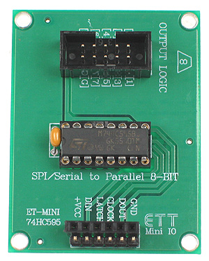 Click for Larger Image - 74HC595 Mini Board