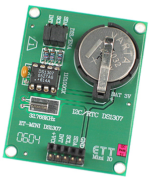 Click for Larger Image - DS1307 Real-Time Clock Mini Board